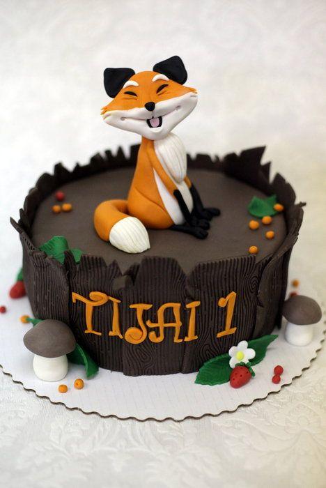 Fox Cake By Neva Cakesdecor Com Cake Decorating