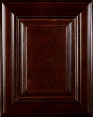 Cherry wood door  Countryside Cappuccino stain