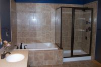 Jetted Tub Shower Combo
