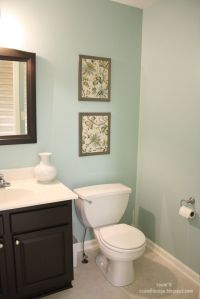 bathroom color: valspar glass tile | Home Decor ...