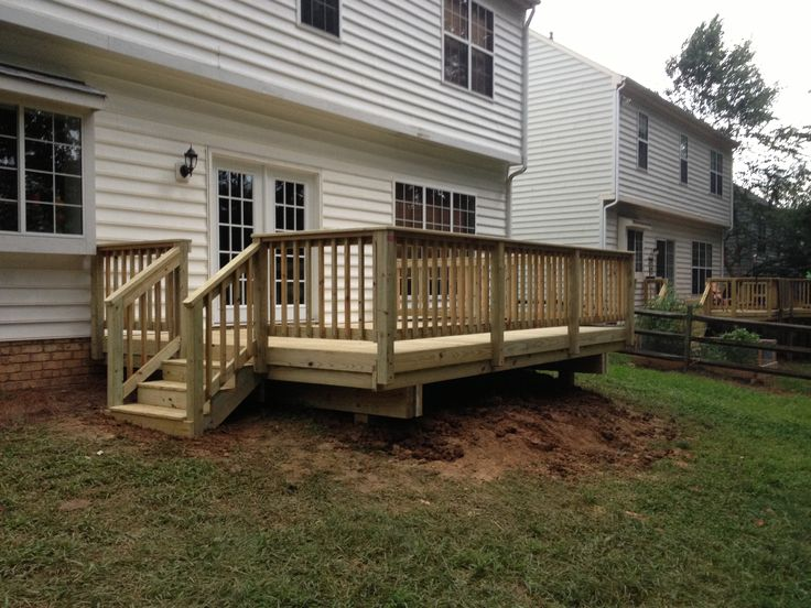 12x16 Deck My New Spring Project Woo Hoo Great Yard