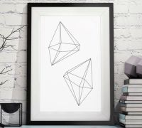 1000+ ideas about Geometric Poster on Pinterest | Hipster ...