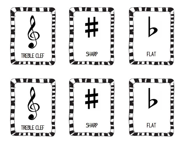 Music symbols, Memories and Memory games on Pinterest