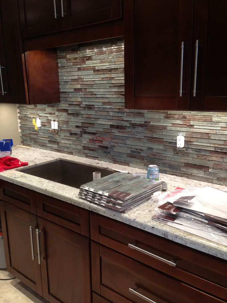white quartz kitchen countertops drawer organization ideas glass tile backsplash for condo kitchen. | ...
