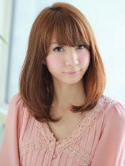 nice japanese medium hairstyle