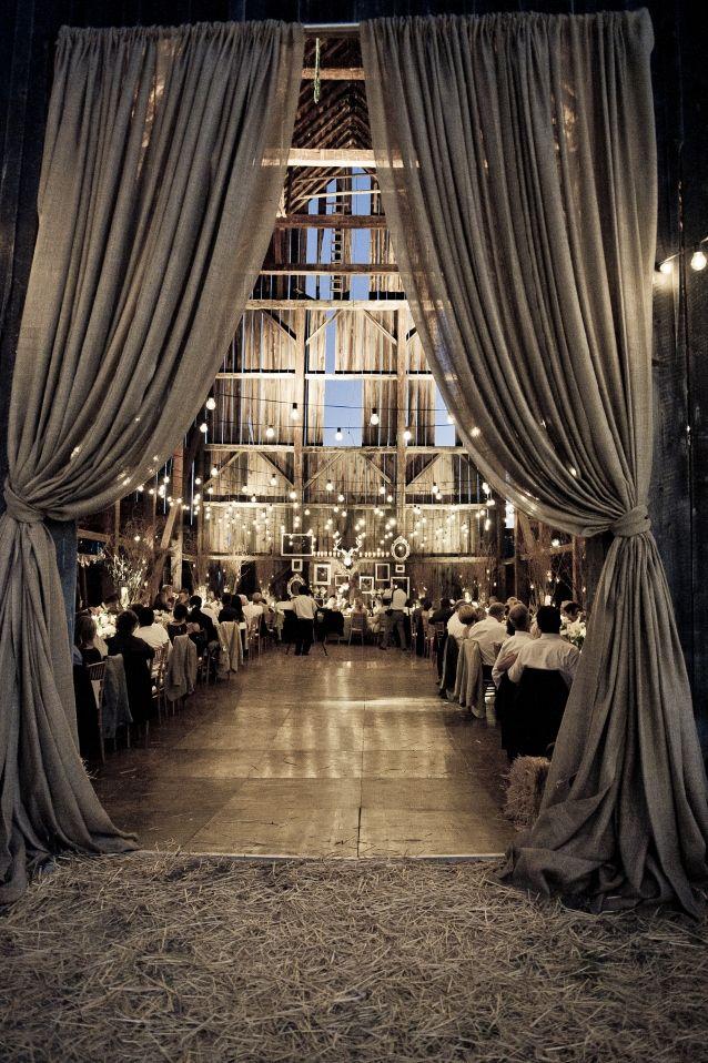 Make your barn wedding drea