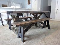 DIY farmhouse bench | My Blog | Pinterest | Farmhouse ...