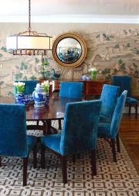 25+ best ideas about Blue Chairs on Pinterest | Velvet ...