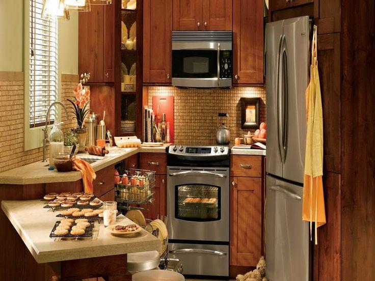 Adorable Tiny Kitchen Kool Kitchens Pinterest A