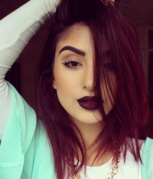 25+ Best Ideas about Dark Burgundy Hair on Pinterest