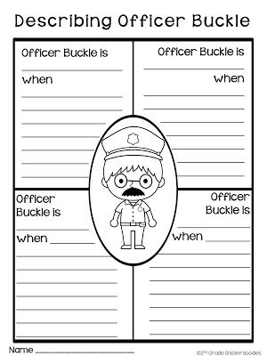 All Worksheets » Officer Buckle And Gloria Worksheets