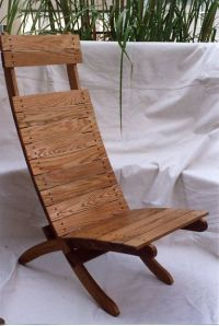 Scissor Camp Chair Plans - WoodWorking Projects & Plans