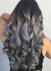 1000 ideas curly hair coloring