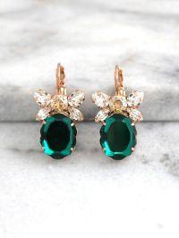 Best 20+ Emerald Earrings ideas on Pinterest   Emerald ...