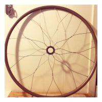Bicycle mandala wall art, bike wheel home decor, recycled ...