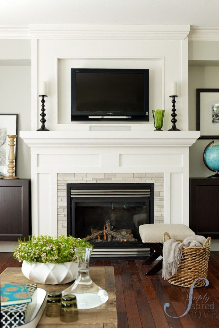 How To Make A Gas Fireplace Surround  WoodWorking Projects  Plans