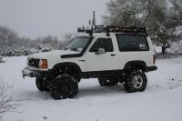 Mounting a roof rack | Bronco II Project | Pinterest ...