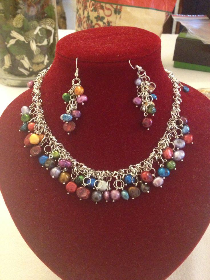 Collar De Perlas Cultivadas Collares Lupita Pinterest Collars