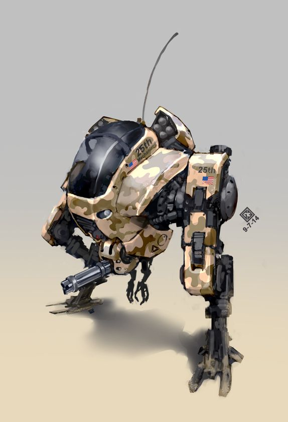 military mech by DocslavGE  Catch a Mech or like