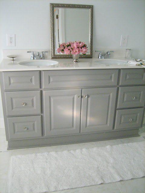17 best ideas about Painting Bathroom Vanities on
