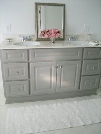 17+ best ideas about Painting Bathroom Vanities on