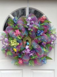 17 Best images about Spring wreaths on Pinterest   Front ...
