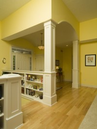 17 Best images about Half Wall Design Ideas on Pinterest ...