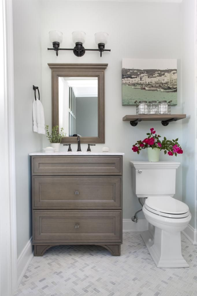 25 best Small Guest Bathrooms ideas on Pinterest  Small half bathrooms Inspired small