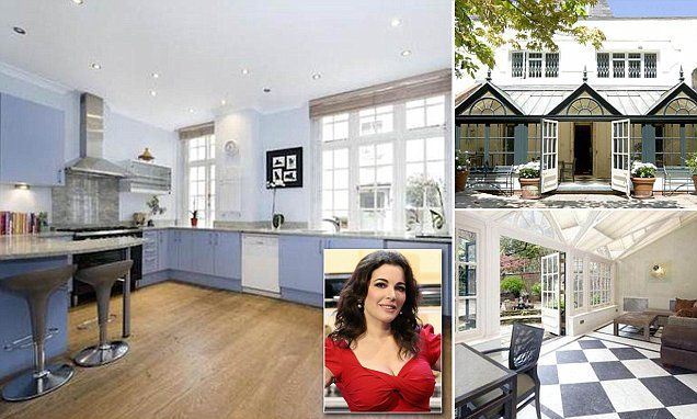 remodel my kitchen tile home depot inside nigella lawson's - and the rest of her new ...