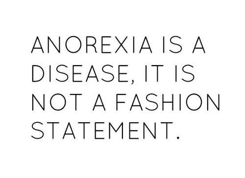 Anorexia Nervosa is a serious, potentially life