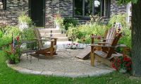 crushed rock patio ideas | Crushed rock & sandstone patio ...