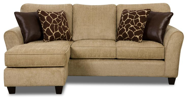 living room with sofa and two accent chairs tufted 4808 chofa (sofa configurable chaise) by fusion ...