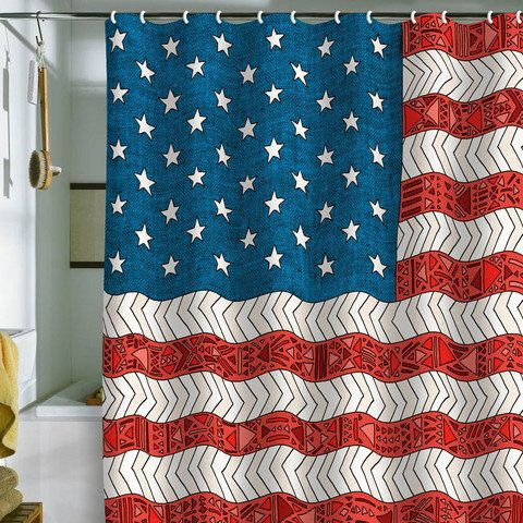 52 Best Images About Flag Stuff On Pinterest Americana Bathroom