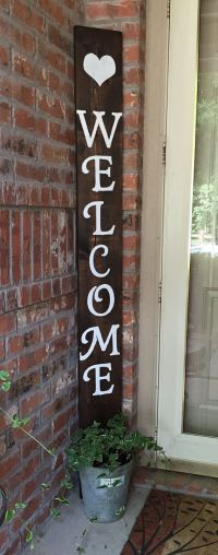 Best 25+ Welcome Signs ideas on Pinterest | Wooden welcome ...