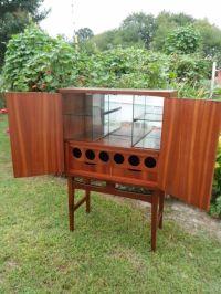 Mid Century Modern Danish 1960's Cocktail Cabinet, Liquor ...