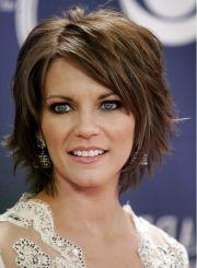 chin length layered bob hairstyles