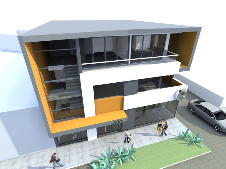 3 Storey Commercial Building Design 3 Storey Commercial