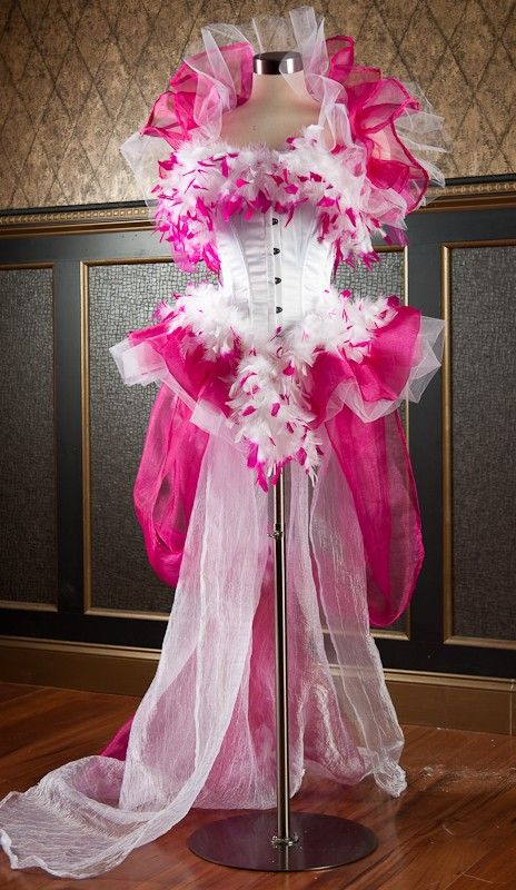 CLEARANCE Size small Burlesque corset dress costume