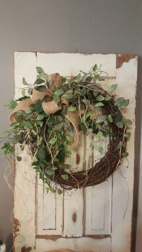 25+ best ideas about Outdoor Wreaths on Pinterest
