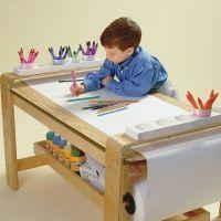 Big kids Activity Desk For Drawing for sale | Details ...