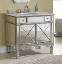1000+ images about Mirrored Bathroom Vanities on Pinterest