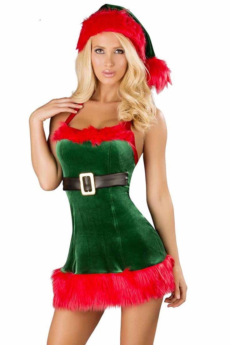 Sexy Santas Girl Elves Santa S Envy Sexy Elf Costume By