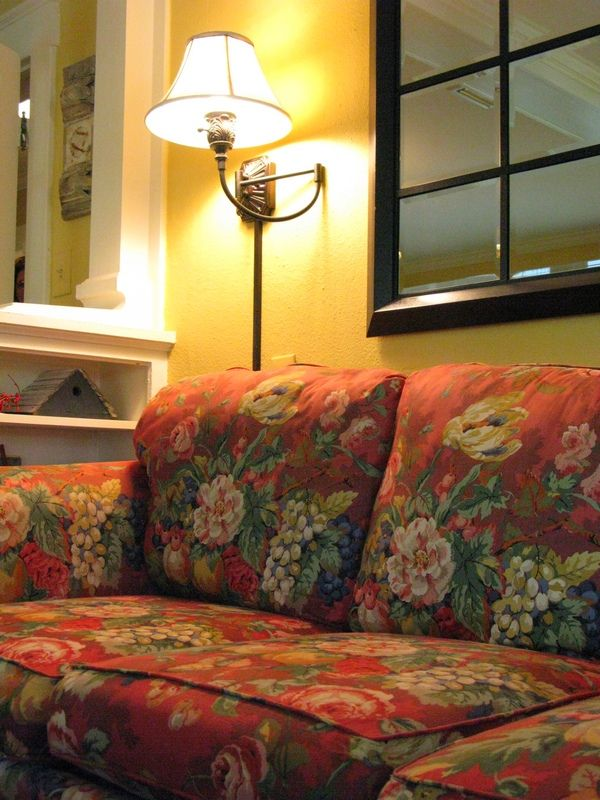 25 best ideas about Floral sofa on Pinterest  Timorous beasties Fabric and Teal home curtains
