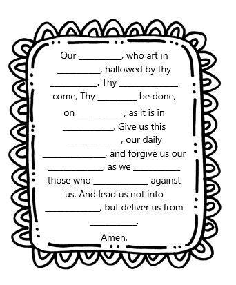 17 Best images about Kids catholic worksheets on Pinterest