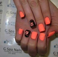 25+ best ideas about Orange Nail Art on Pinterest | Summer ...