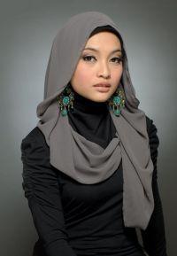 Hijab Muslim head scarf.   Modest Inspiration Wraps/Head ...