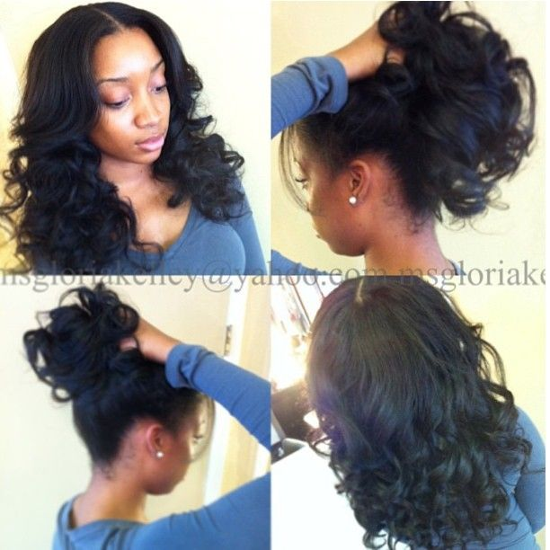 214 Best Images About Weave Sew Ins Hairstyles On Pinterest