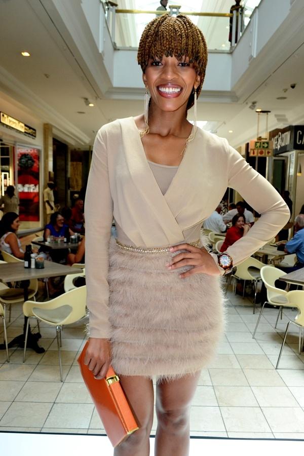Poppy Ntshongwane For Elisabetta Franchi Celeb Style