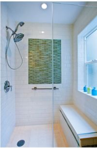 Waterproofed window sill also acts as a shelf. Make sure ...