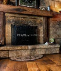 17 Best ideas about Rustic Fireplace Mantels on Pinterest ...